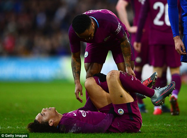 Manchester City confirmed the injury via their official website on Monday evening