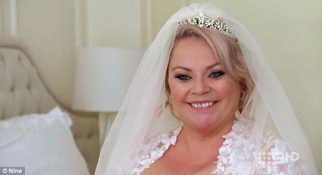 'My expectations have been met, and then some. To infinity and beyond': Single mum Jo was VERY smitten with her new 'husband', but had no idea he wasn't feeling the same way