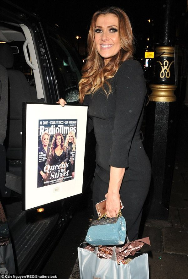 Lady Wilnelia Merced attends Radio Times covers party ...
