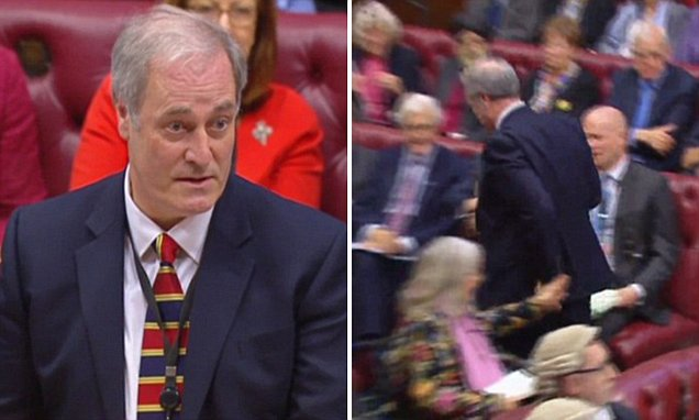 Daily Mail Lord Bates sensationally resigns in the House of Lords | Daily Mail Online