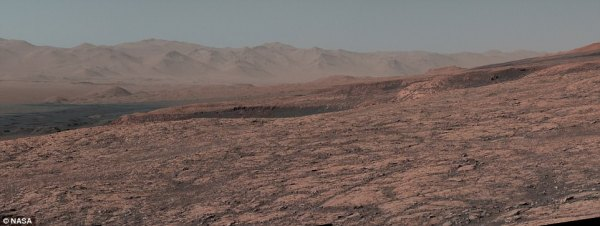 Curiosity rover reveals a stunning panorama of Mars ...