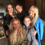Spice Girls Reunion:Posh,Ginger,Baby,Sporty and Scary Spice Spotted together.
