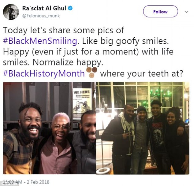 Comedian Dennis Banks took to social media, on Friday, to upload a few photos of himself smiling and to kick off Black History Month, which started on Thursday, and to celebrate #Blackmensmiling