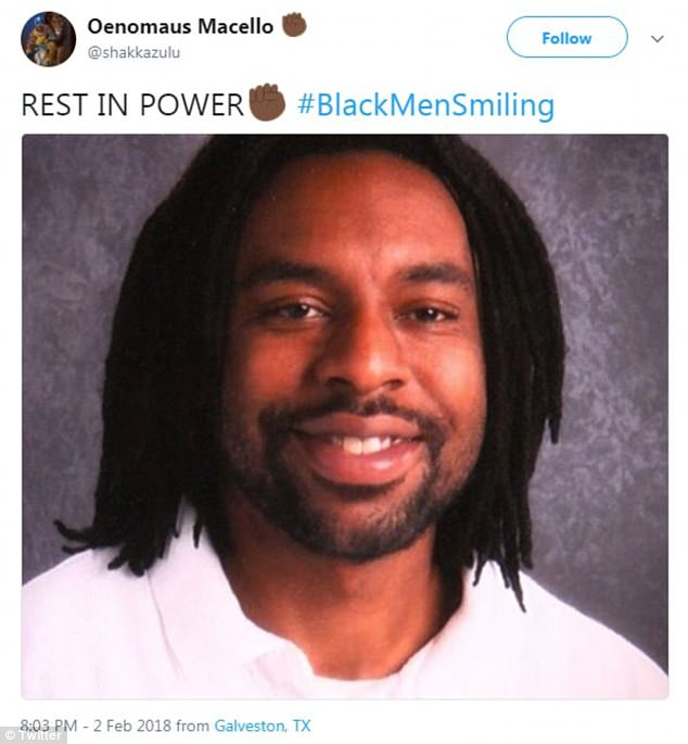 They also sought to point out the tendency for press to use photos of Black men looking angry or doing something that society has frowned down upon as a means to paint them as violent