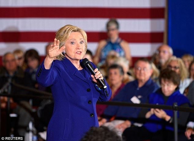 Clinton used a private, unsecured email server not accessible by government archivists to send and receive classified information while she was secretary of State; the FBI ultimately cleared her of criminal wrongdoing