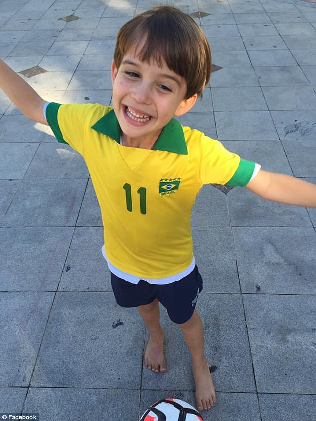 Brann had been given visitation rights of Nico in Brazil, but only in the presence of armed security guards