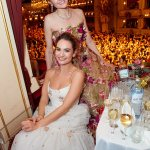 Actress Lily James Stuns at the Opera Ball in Vienna