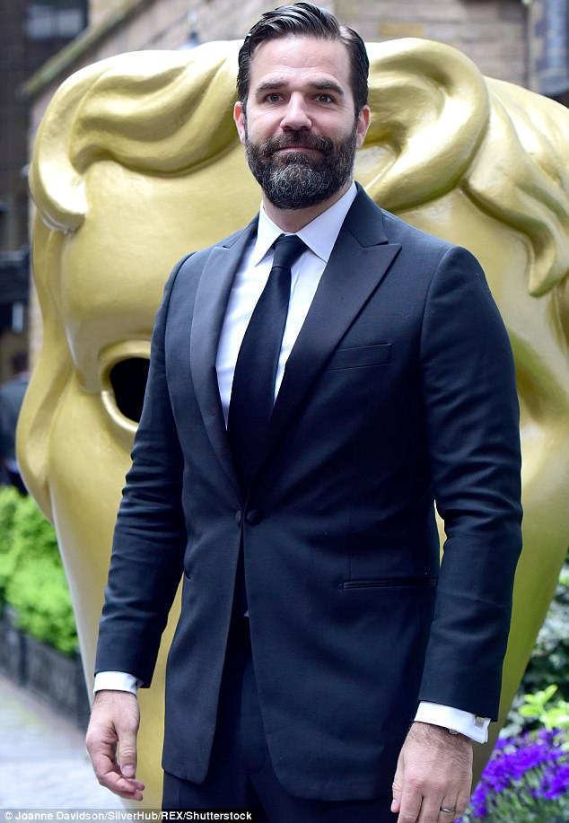 Heartbreaking: The Catastrophe actor, 41, told The Sunday Times Magazine that his wife became pregnant again before Henry's death