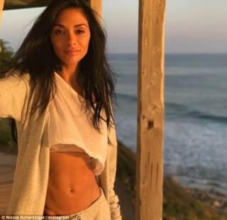 Ab-tastic! Nicole Scherzinger Flaunts Abs For a shoot in Malibu
