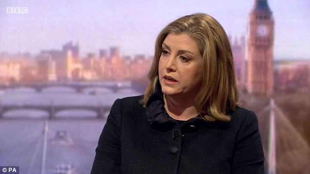 Secretary of State for International Development Penny Mordaunt attacked Oxfam, saying it had failed in its 'moral leadership'