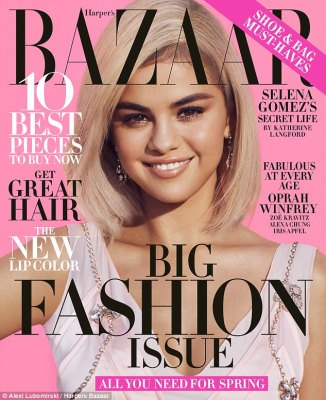 Learning the langauge: The 25-year-old dished about her desire to embrace her Latina roots in a recent cover interview with Harper's Bazaar