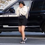 Kylie Jenner Seem to have lost the baby Weight as she is spotted wearing Unreleased Air Jordan 4