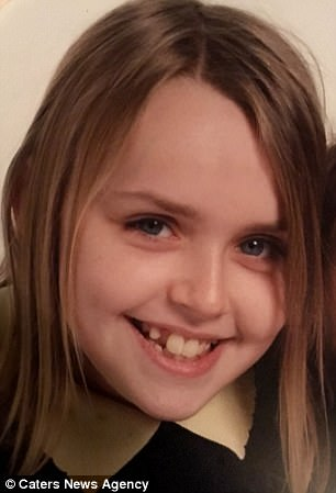 The Guy family believe that more could have been done to save Charlotte's life, if she had more mental health support earlier on. Charlotte is pictured in an undated photo as a young child