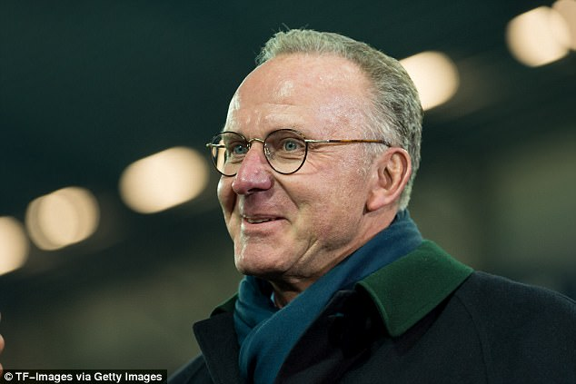 Bayern chairman Karl-Heinz Rummenigge said he is delighted the club can offer their fans these kind of experiences after signing a multi-year partnership with Marriott International