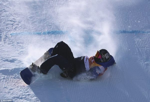 Russian skier suffers horror crash at the Winter Olympics ...