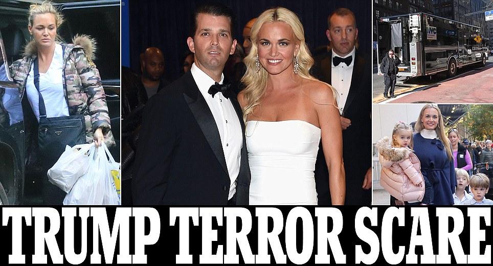 Vanessa Trump hospitalized, opened white powder letter