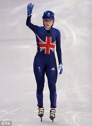 Elise Christie goes for gold today in the 500m speedskating