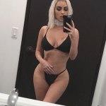 Kim Kardashian Show off her 24inch Waist