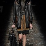 Hard at work: Kaia Gerber Walks the runway for Coach at NYFW