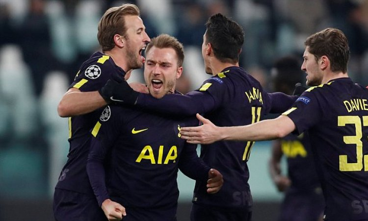 Image result for juventus vs tottenham