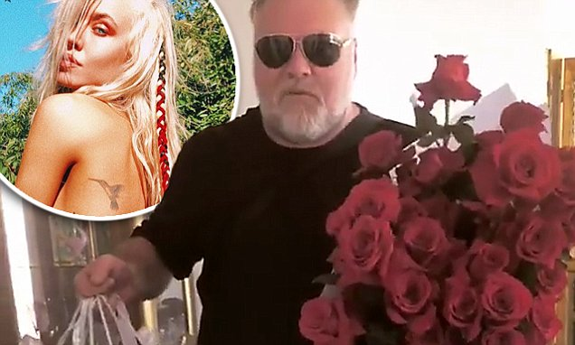 Kyle Sandilands Comes Home With Valentines Day Gifts