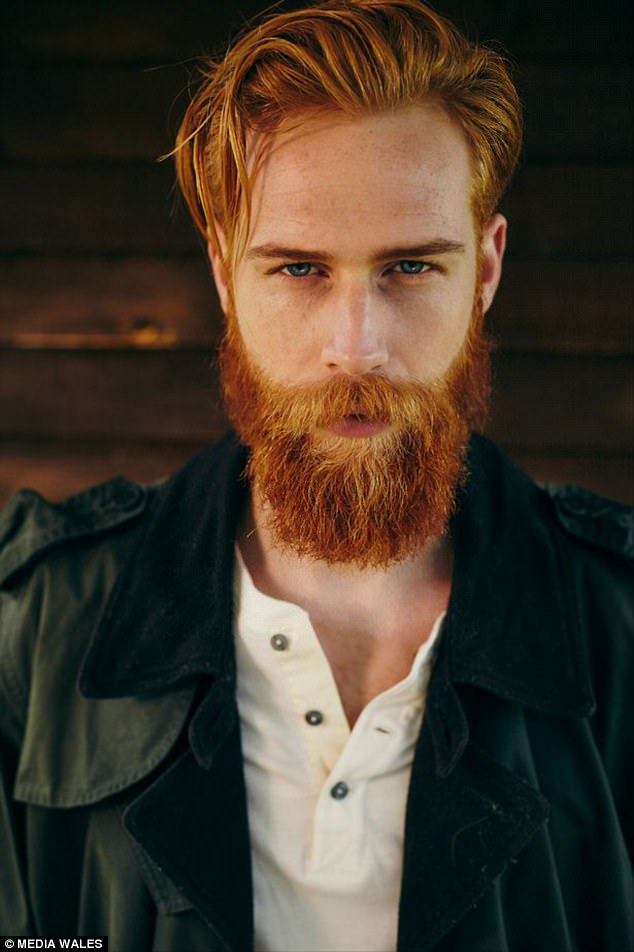 Salesman Grows Ginger Beard And Becomes GQ Model Daily