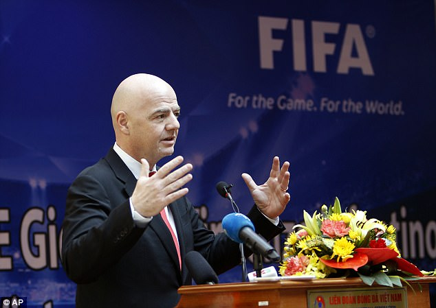 FIFA president Gianni Infantino insists agents fees have taken a 'worrying' direction