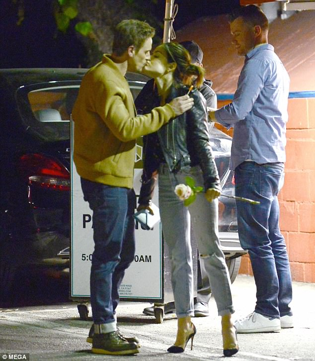 Life Sentences Lucy Hale Receives Kiss From Riley Smith