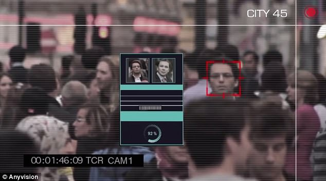 The technology is capable of identifying faces in a large crowd with 'more than 99% accuracy'