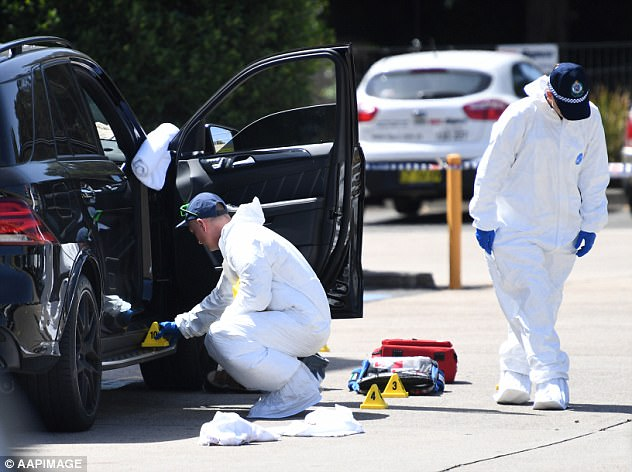 The brazen daylight shooting has sparked fears there could be a resurgence in street gang wars as police investigate the former bikie's connections