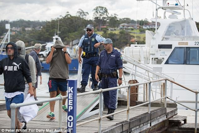 Paul Pincini, coach driver at Merimbula Coach Tours, told Daily Mail Australia the group appeared 'very sore and sorry' as he drove them to the airport