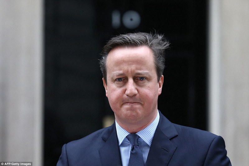 David Cameron took to the steps of Downing Street in February 2016 to announce the date for the referendum on whether to leave the EU