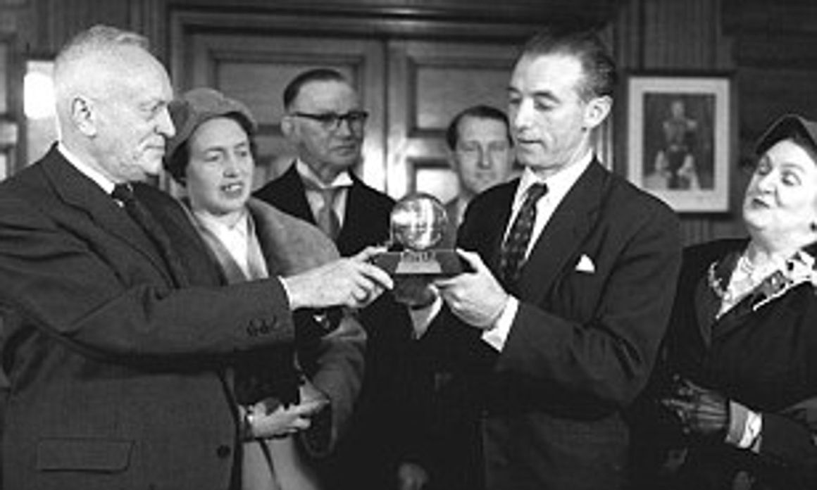Sir Stanley Matthews was the very first recipient of the Ballon d'Or in 1956 | Daily Mail Online