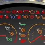 Warning Ahead 98 Per Cent Of Drivers Cannot Understand Their Dashboard Lights Daily Mail Online