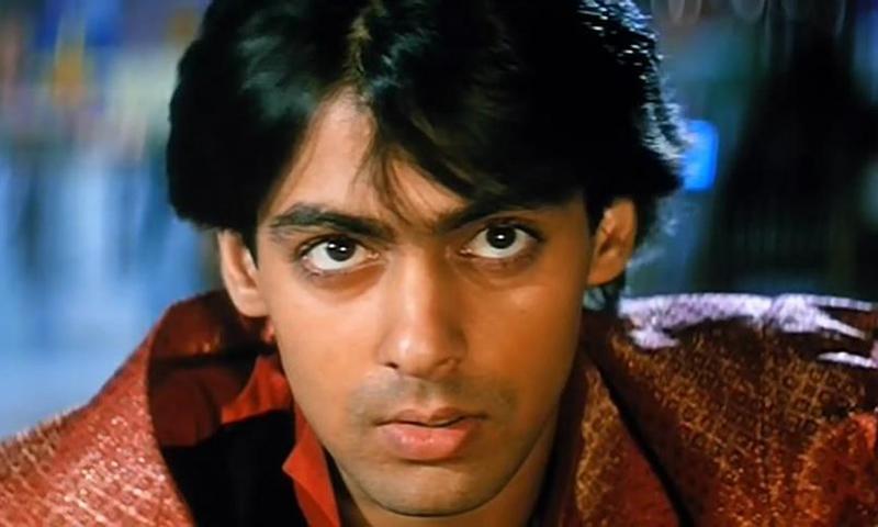1995 کی فلم کرن ارجن میں سلمان کا انداز —۔
