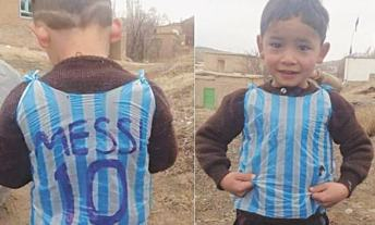 FAMILY OF YOUNG AFGHAN MESSI FAN FLEE TO PAKISTAN