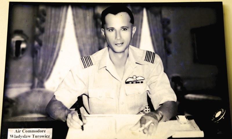 Air Commodore Władysław Turowicz -Photos by Tahir Jamal/White Star. Courtesy Pakistan Air Force Museum.