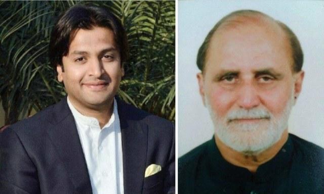Malik Shehryar Awan & Retired Col Sultan Surkhru