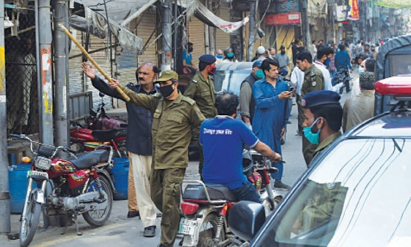 'Ease in lockdown' sets in confusion in Punjab - Pakistan 1