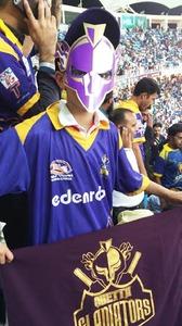 A young Quetta Gladiators fan.