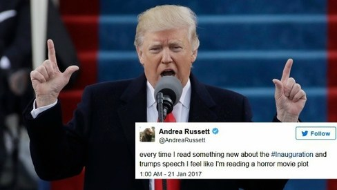 What really happened at Trump's inauguration, according to Twitter