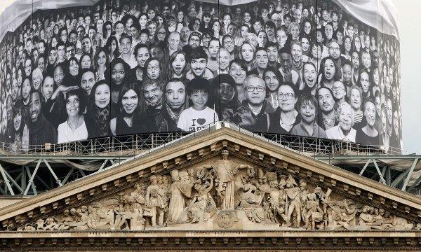 JR to decorate Paris' Pantheon - World - DAWN.COM