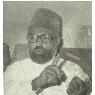 Former IJT chief and future Jamat-i-Islami leader, late Qazi Hussain Ahmed in 1974. His influence helped the IJT make huge gains in student union elections in the 1970s.