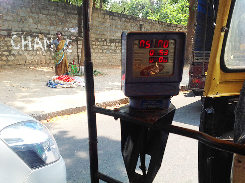 The official rickshaw fares are an issue that keeps cropping up in urban politics in India.