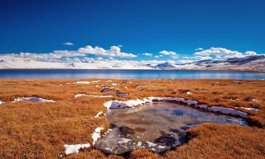 Edge of Sheosar Lake
