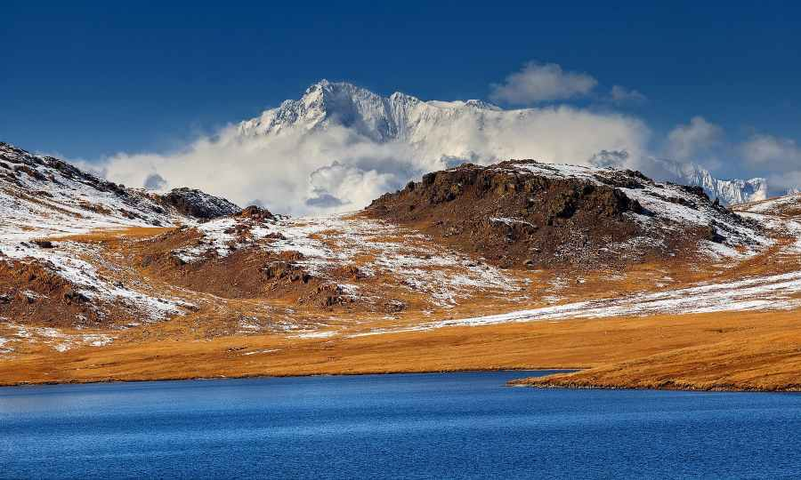 Nangaparbat view from Sheosar Lake