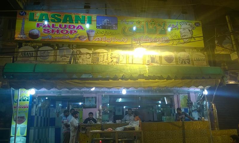 Lasani Faluda Shop — Photo by the author