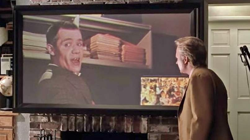 Old Marty gets fired on a video call in the film