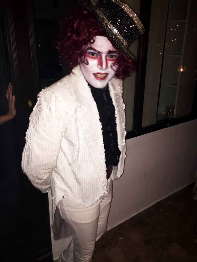Tabesh Khoja as Mad Hatter