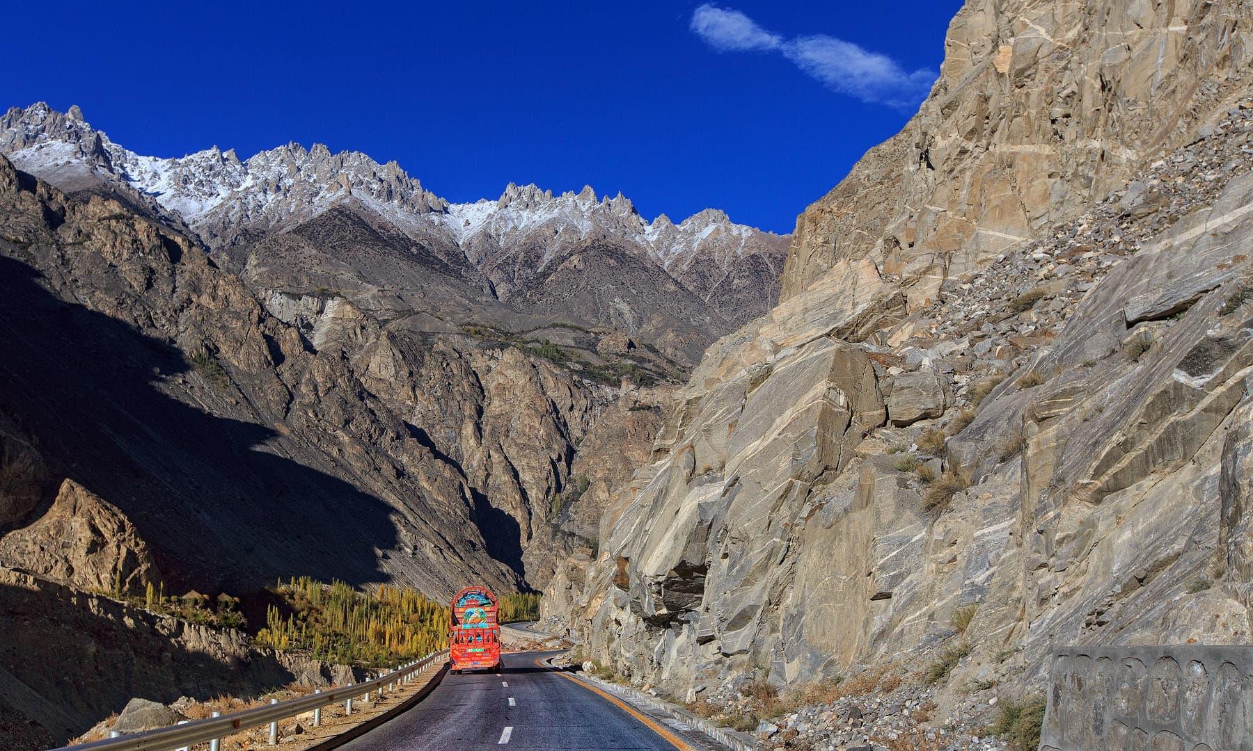 Karakoram Highway in Gojal — S.M.Bukhari's Photography